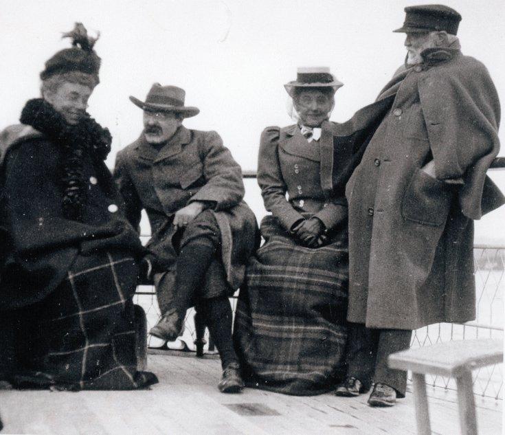 Andrew Carnegie and Rudyard Kipling