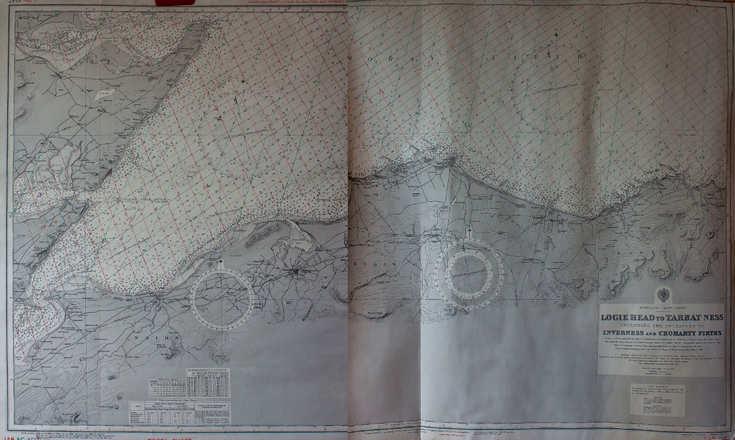 Loggie Head to Tarbat maritime chart