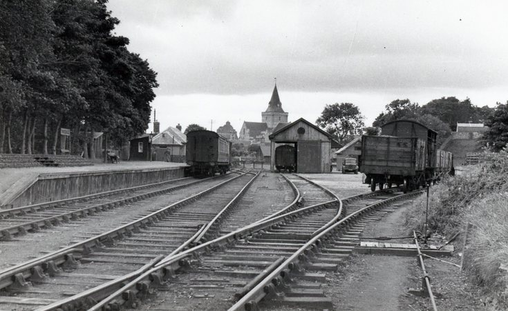 Dornoch Station and sidings