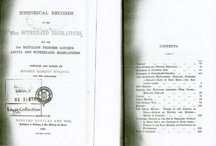 9rd Sutherland Highlanders - Battle of New Orleans