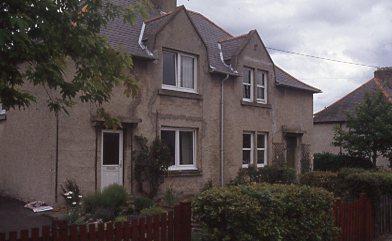 Semi-detached house on MacDonald Road