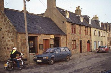 Single storey building Dornoch High Street