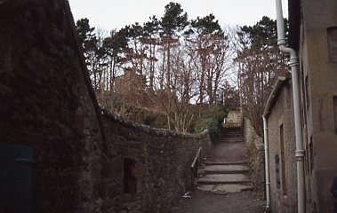 Passageway on the western side of Bank
