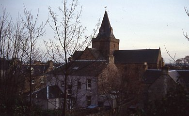 Cathedral and rear view of High Street properties