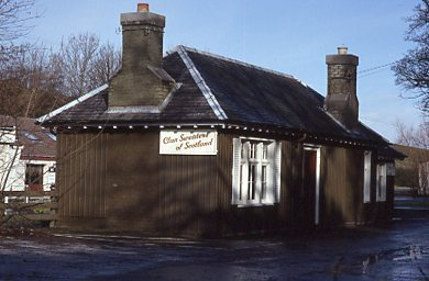 Old Railway Station Ticket Office