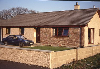 New bungalow in The Meadows Dornoch