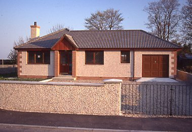 Bungalow with garage No 5 The Meadows