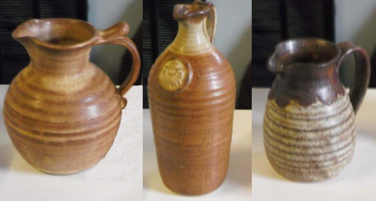 Dornoch Pottery jugs