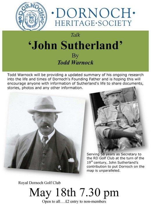 DHS talk 'John Sutherland'