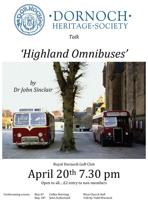 Talk to DHS 'Highland Omnibuses'