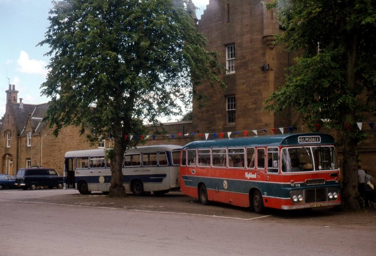Highland Omnibuses in Dornoch