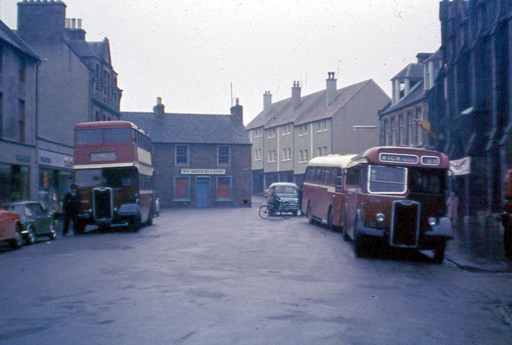 Highland buses in Thurso