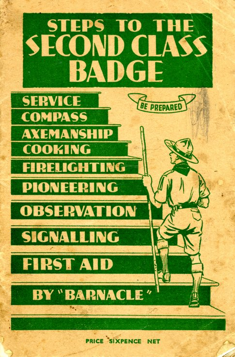 Steps to the Second Class Badge