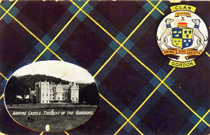 Postcard to George Gordon