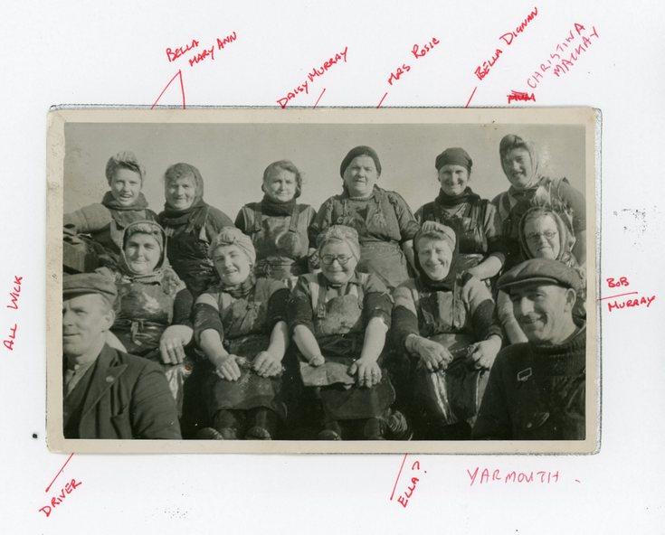 Group photograph  at Yarmouth