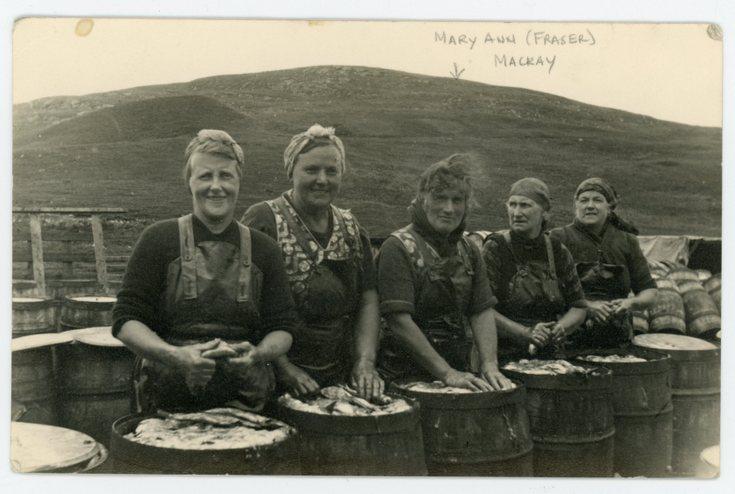 Mary Ann (Fraser) Mackay at Ullapool
