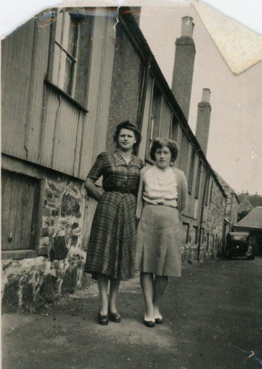 Jessie Ross and Christina Mackay