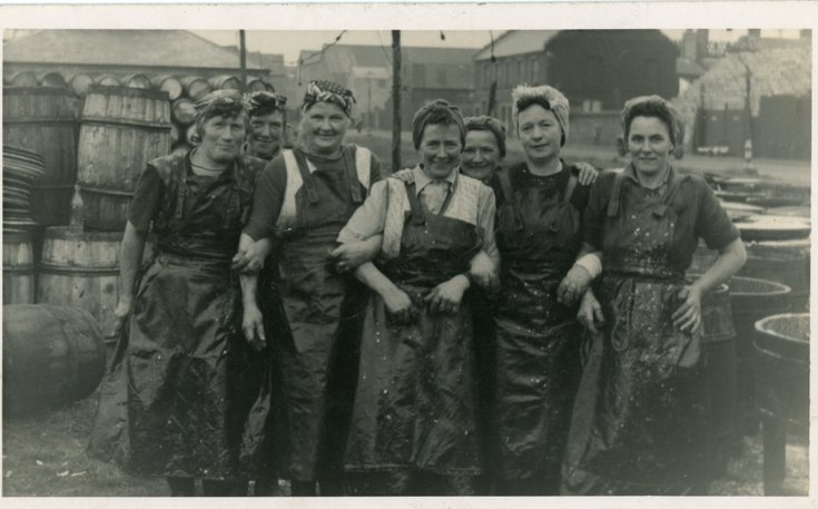 Group photograoh of 'Herring Harvesters'