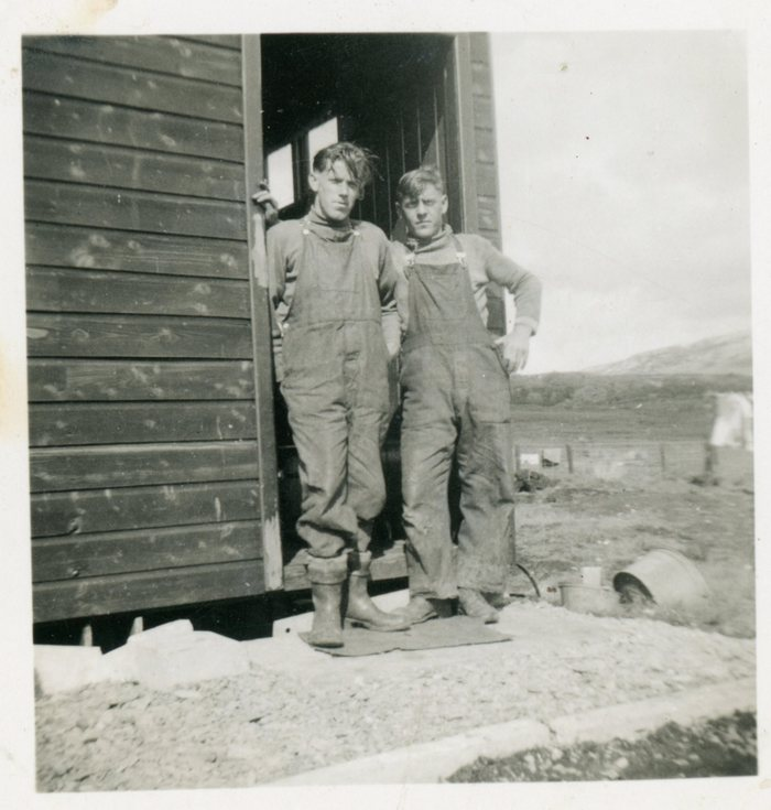Two young men of the 'Herring Harvesters'