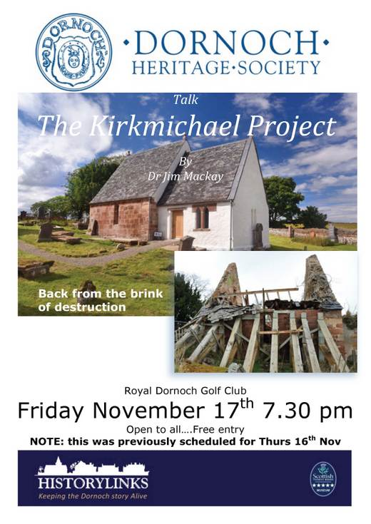 DHS Talk 'The Kirkmichael Project
