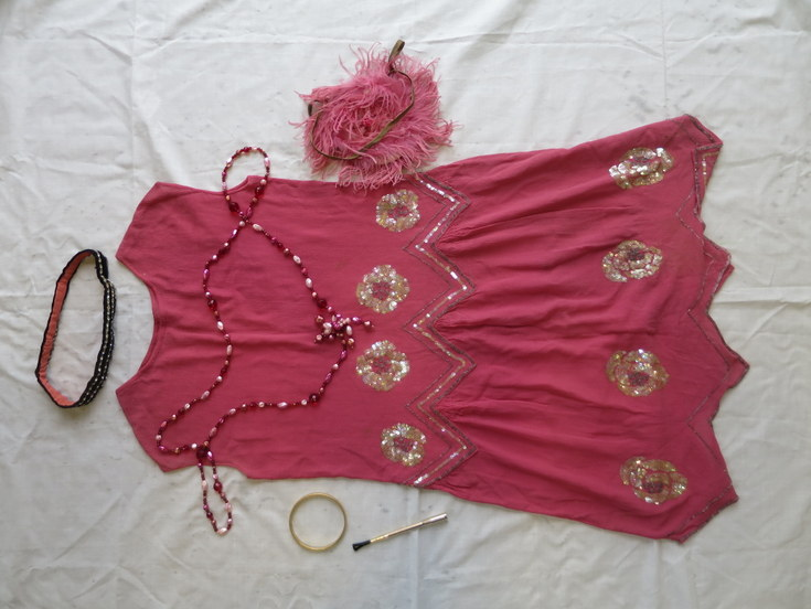 1920's outfit owned by Charlotte Davidson