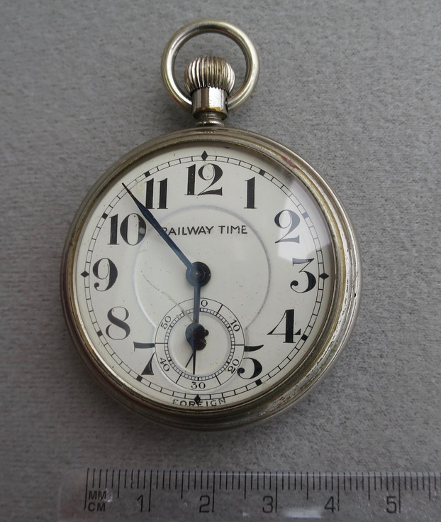 'Railway Time' pocket watch