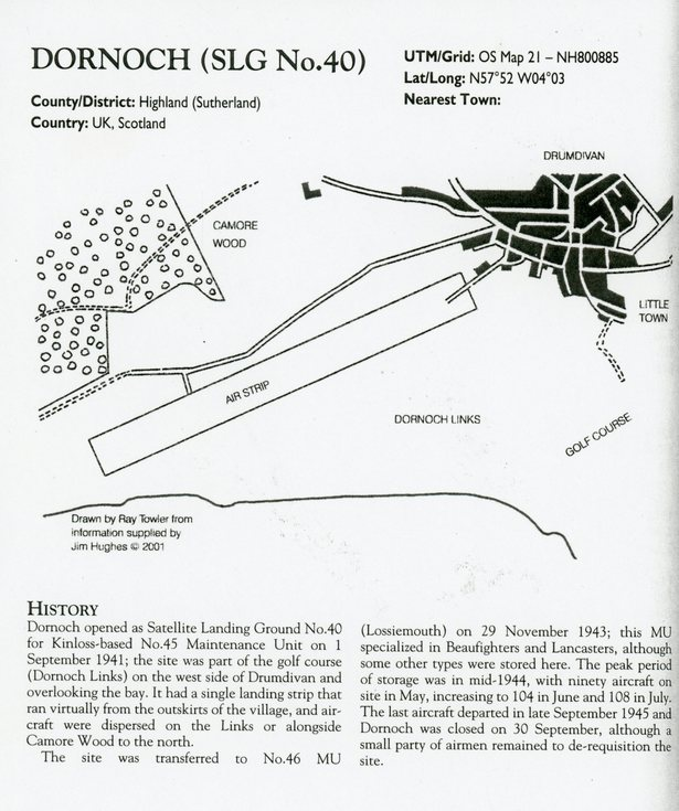 Dornoch (SLG No. 40) [Satellite Landing Ground]