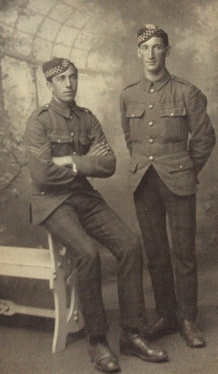 Danny and Thomas MacCulloch WW1
