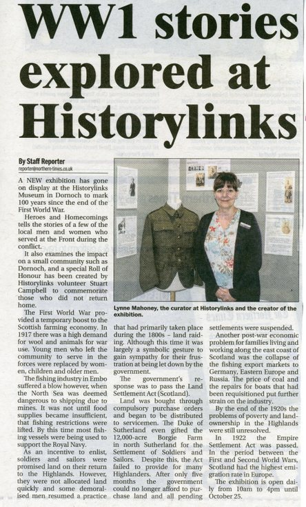 WW1 Stories explored at HistoryLinks
