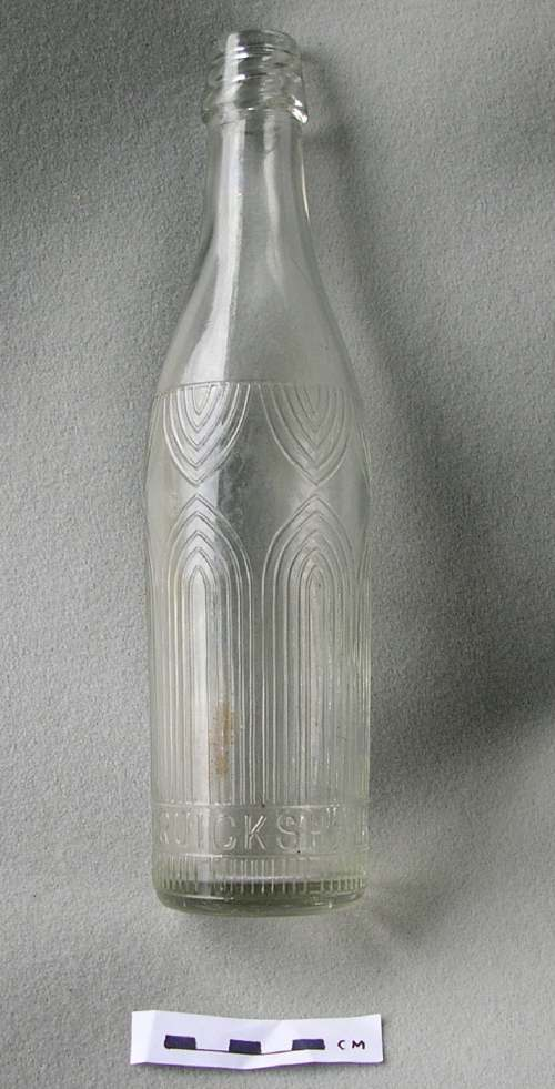 W & J Cruickshank bottle