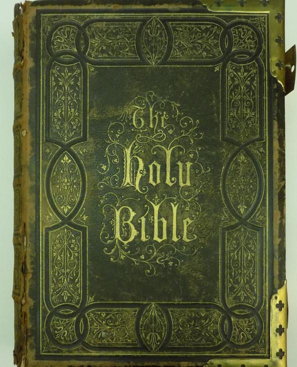 Grant Family Bible c1850