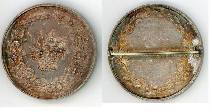 Dornoch Horticultural Society Medal 1906