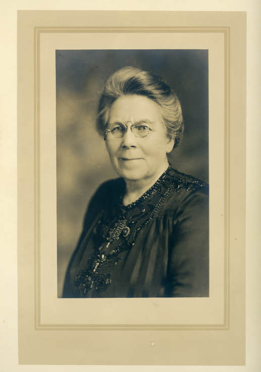 Portrait photograph by or of Mabel Sykes