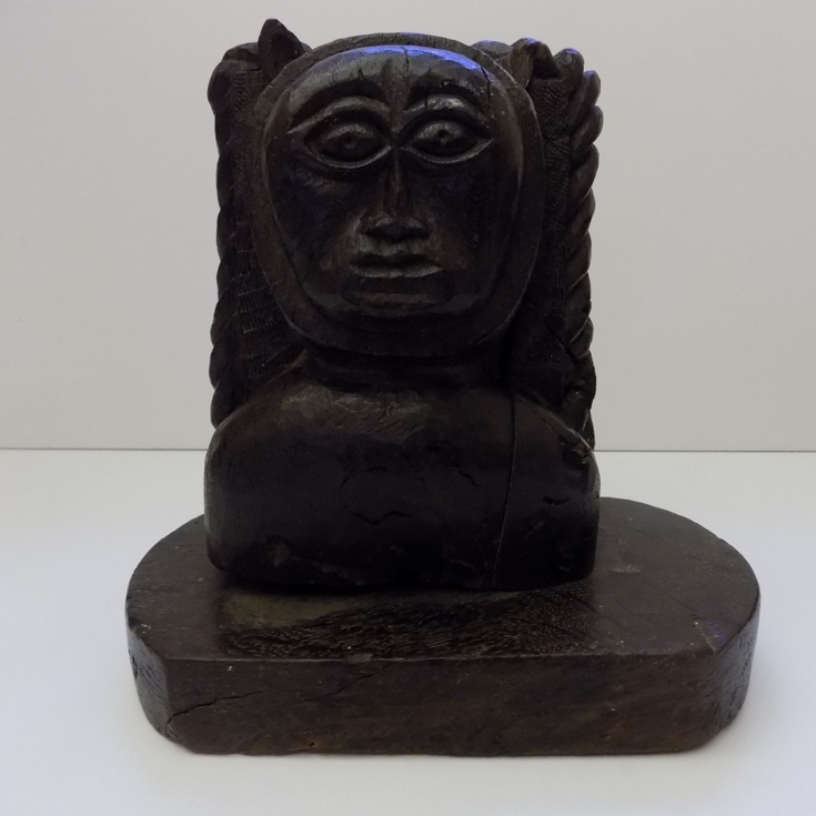 Wooden carved ornament of Dornoch Imp