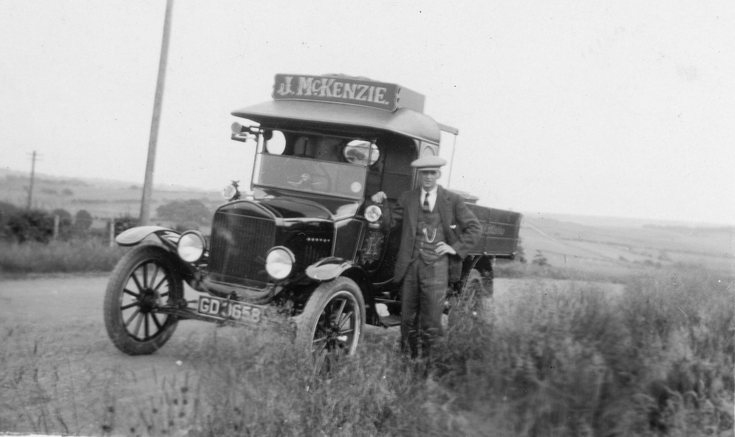 J McKenzie delivery lorry