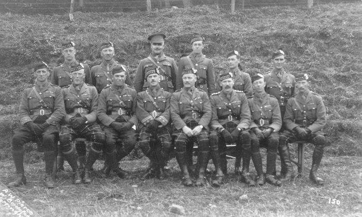 Officers' Mess group photograph