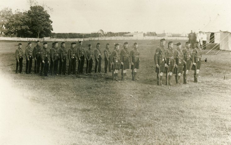 A Platoon 4th/5th Seaforth Highlanders