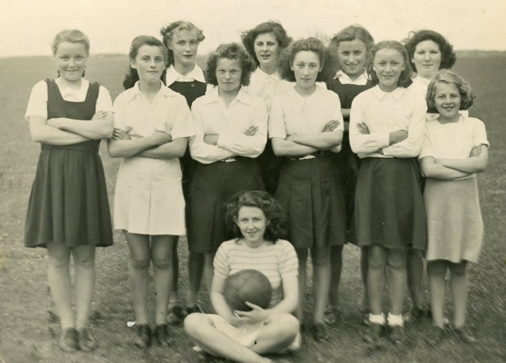 Junior Girls Football Team