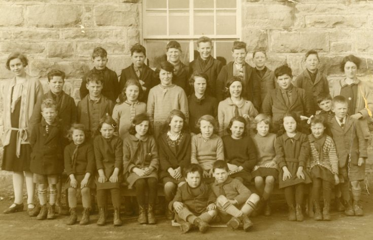School group photograph 1928