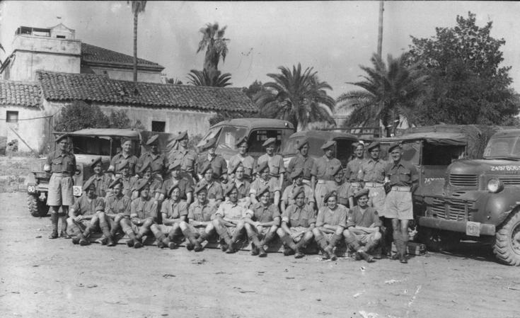 Middle East military group photograph