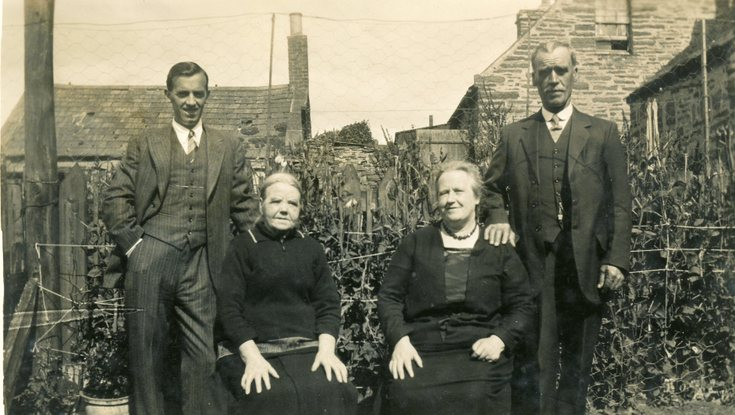 Group photograph of two couples
