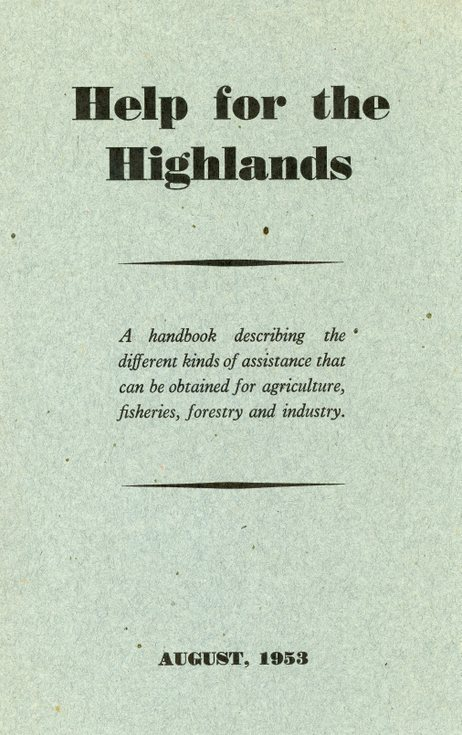 Help for the Highlands
