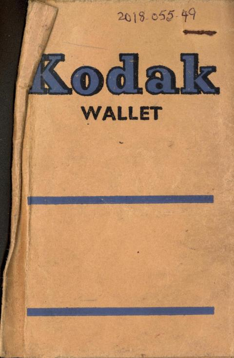 Kodak photograph wallet with 5 photographs