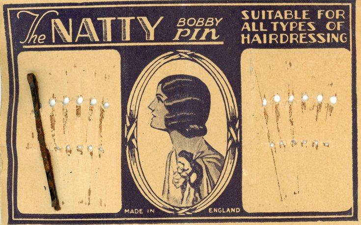 Bobby pin card