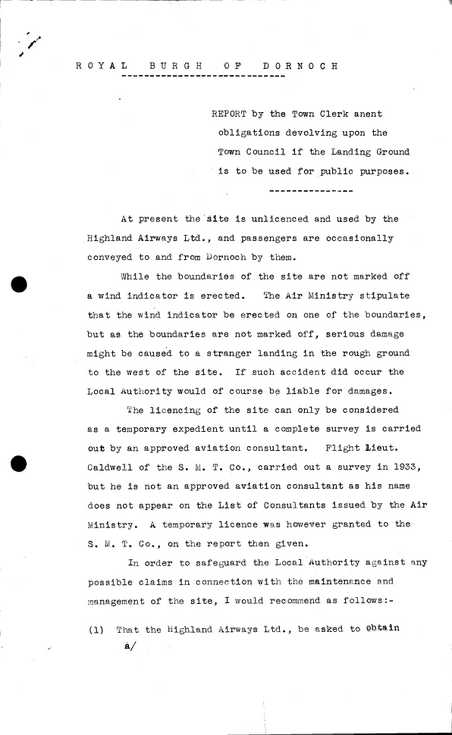 Burgh correspondence Council Obligations (verso)