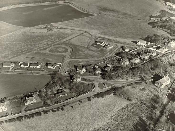 Aerial view of Dornoch