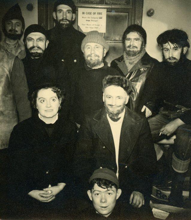 Cast publicity photograph
