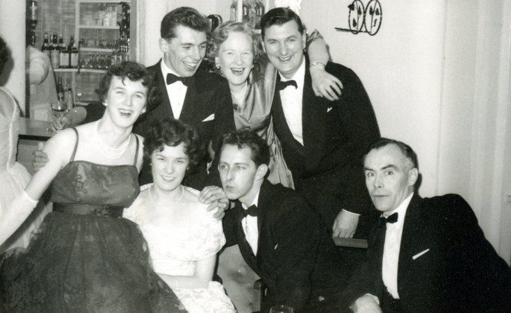 Dornoch Social Club members
