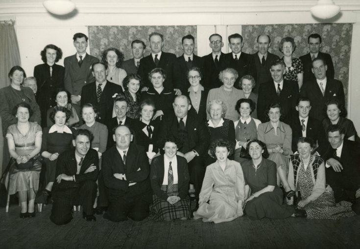 Dornoch Amateur Dramatic group photograph