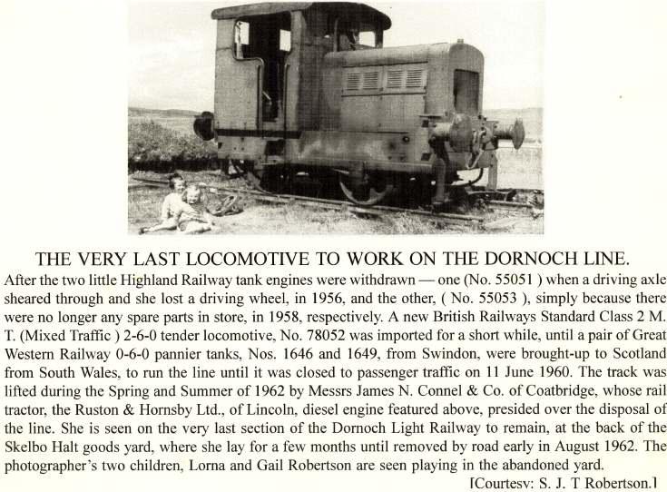 Last locomotive